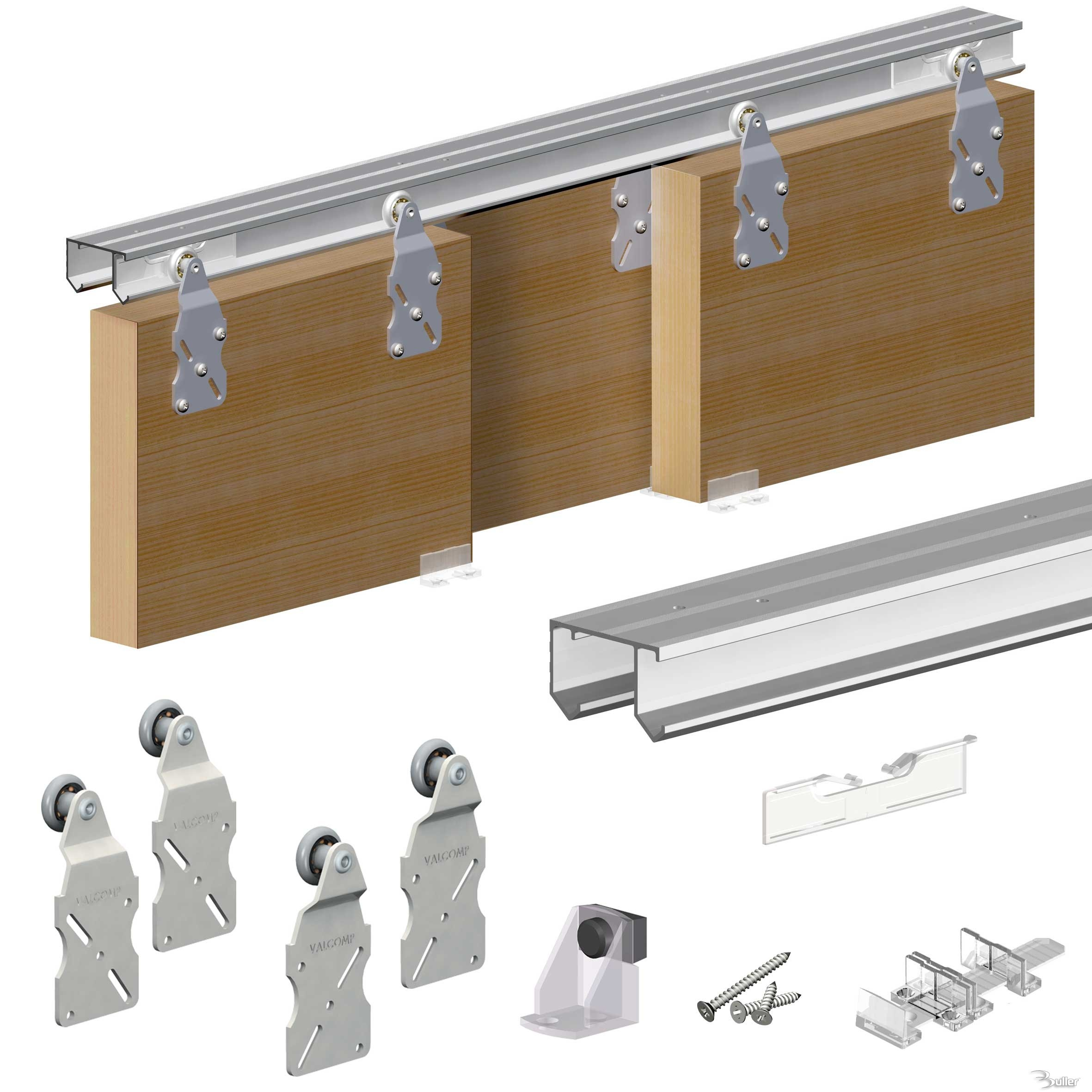 Sliding Closet Door Track Kitdoor sliding door track kit interior design