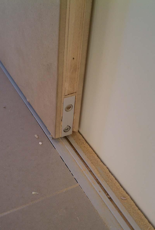 Sliding Door No Floor Track