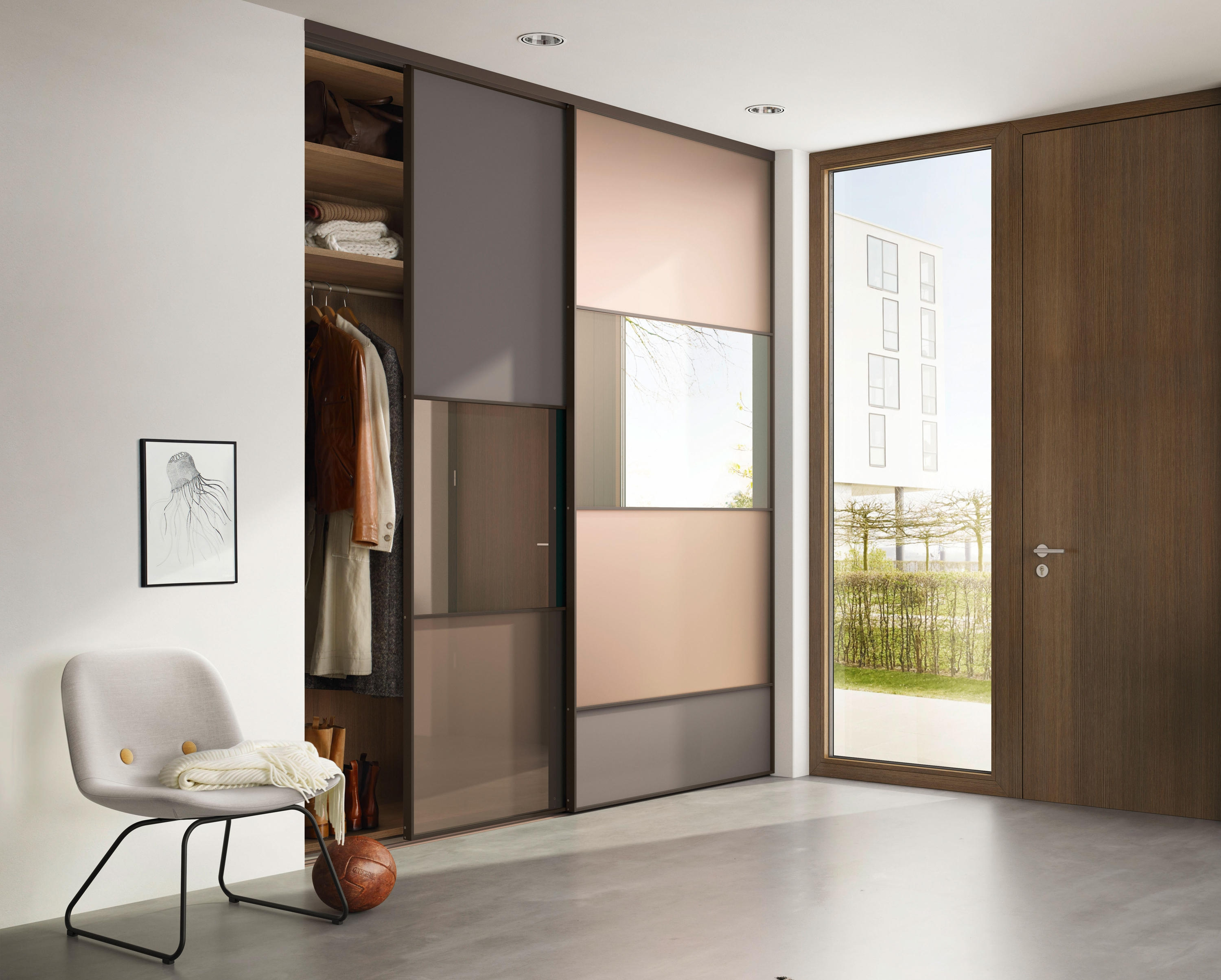 Sliding Door Partition System3000 X 2410