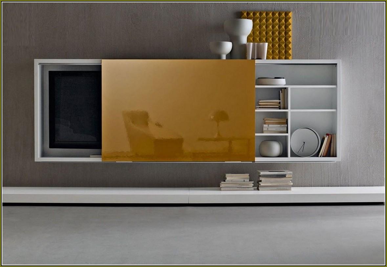 Sliding Door Tv Cabinet