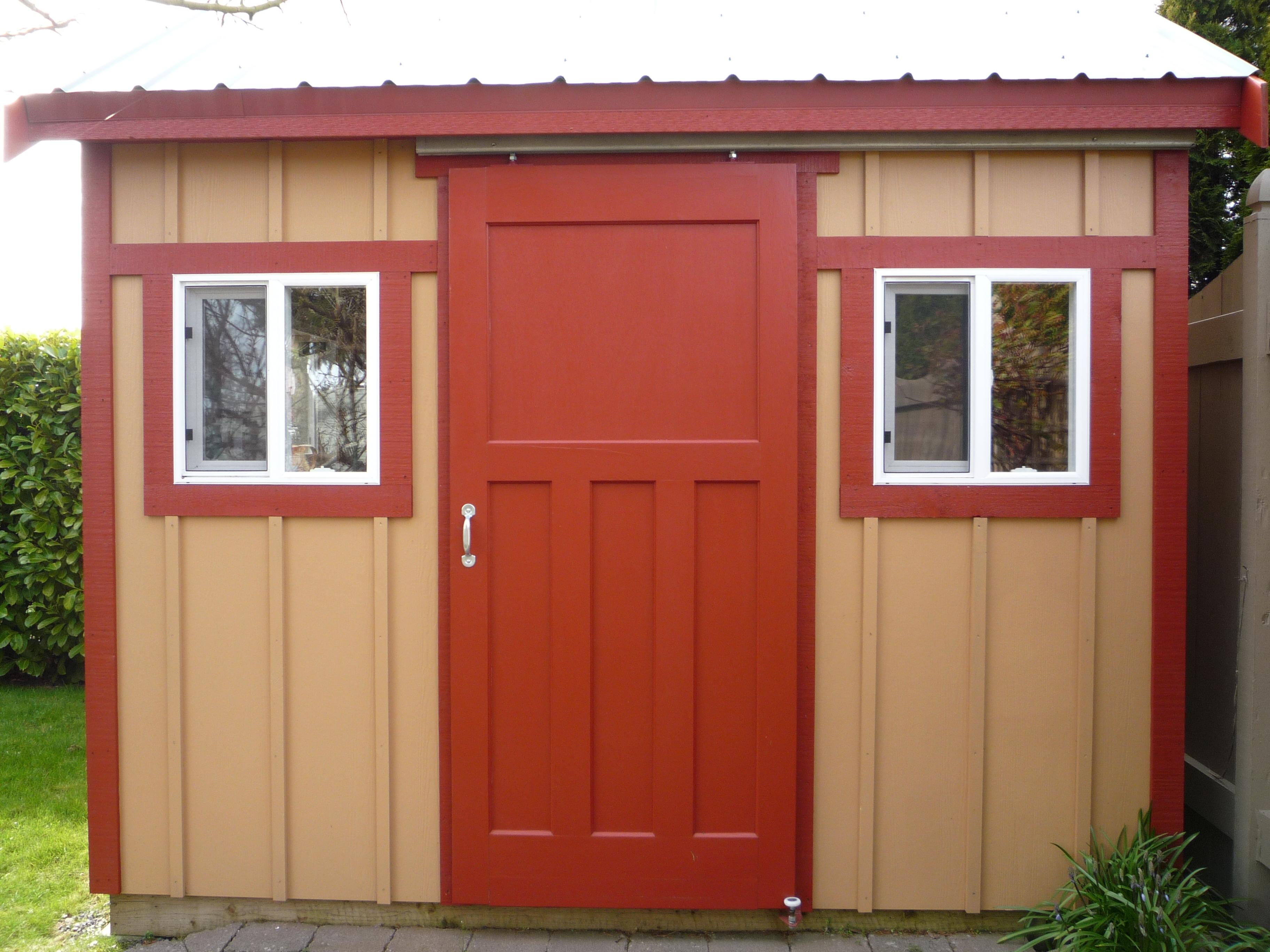 Sliding Doors For Storage Shedsliding barn doors harbour door