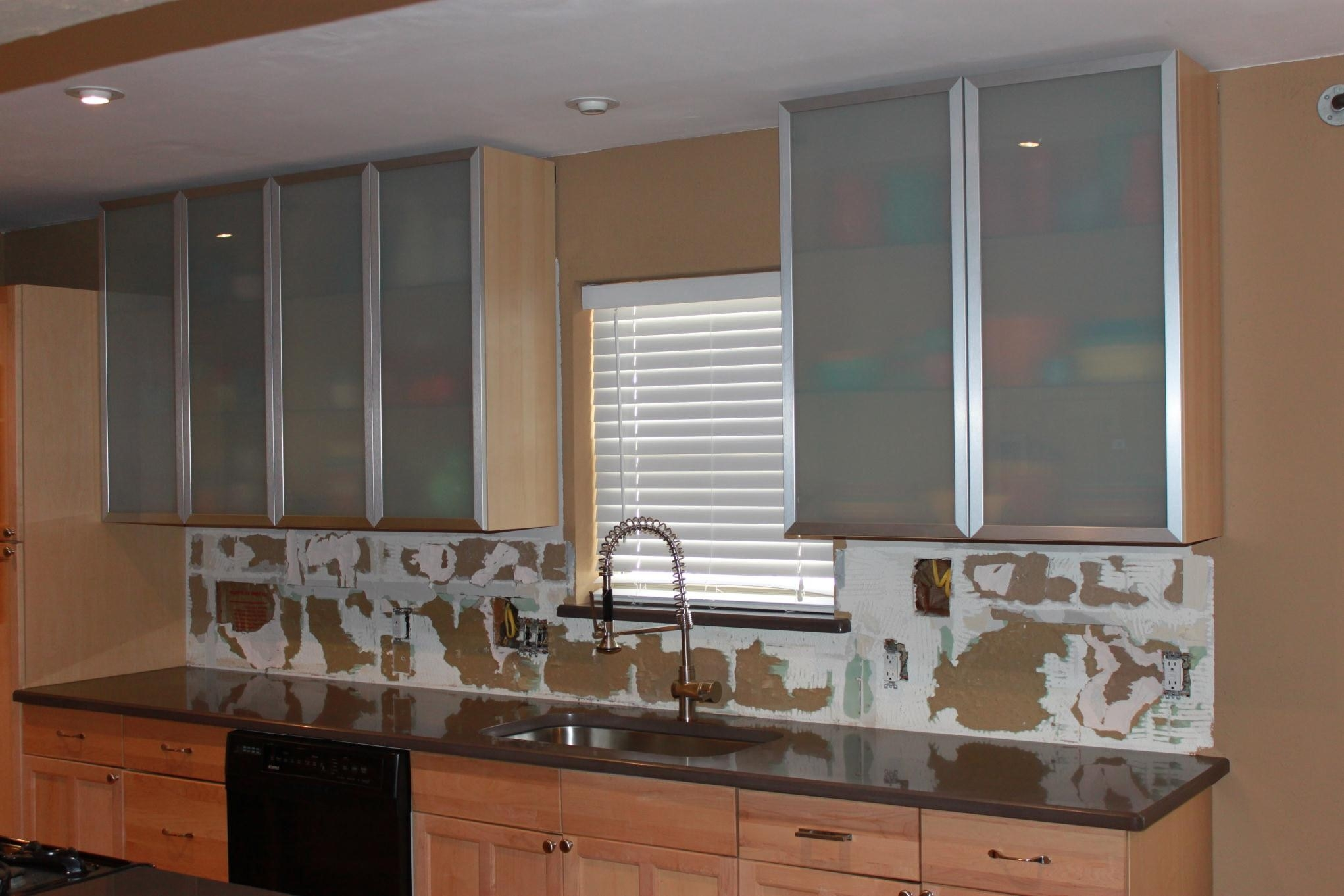 Sliding Glass Door Kitchen Cabinets Sliding Doors - Kitchen cabinets with sliding doors