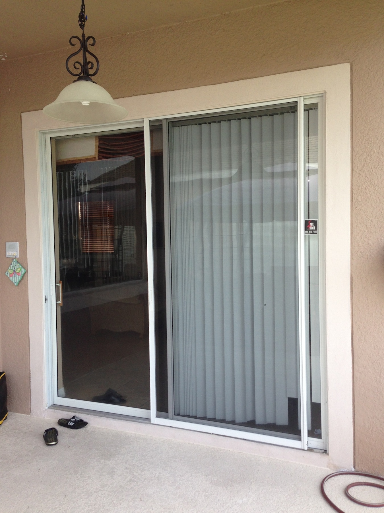 Sliding Glass Door Privacy Tint1350 X 1800