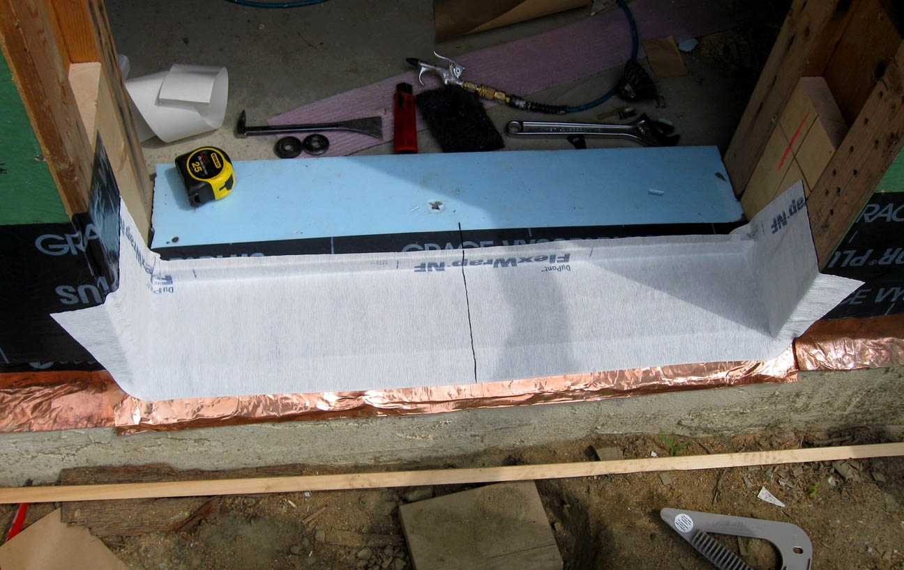 Sliding Glass Door Sill Panexterior door details with 4 thick foam walls