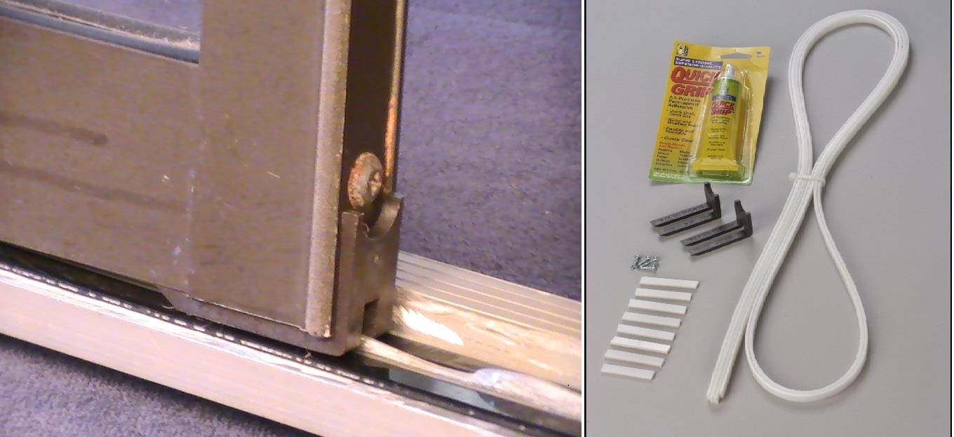 Sliding Glass Door Track Weather Stripping