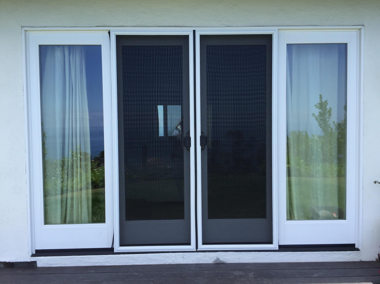 Sliding Screen Doorsdouble sliding screen door rescreening in malibu with pet screen