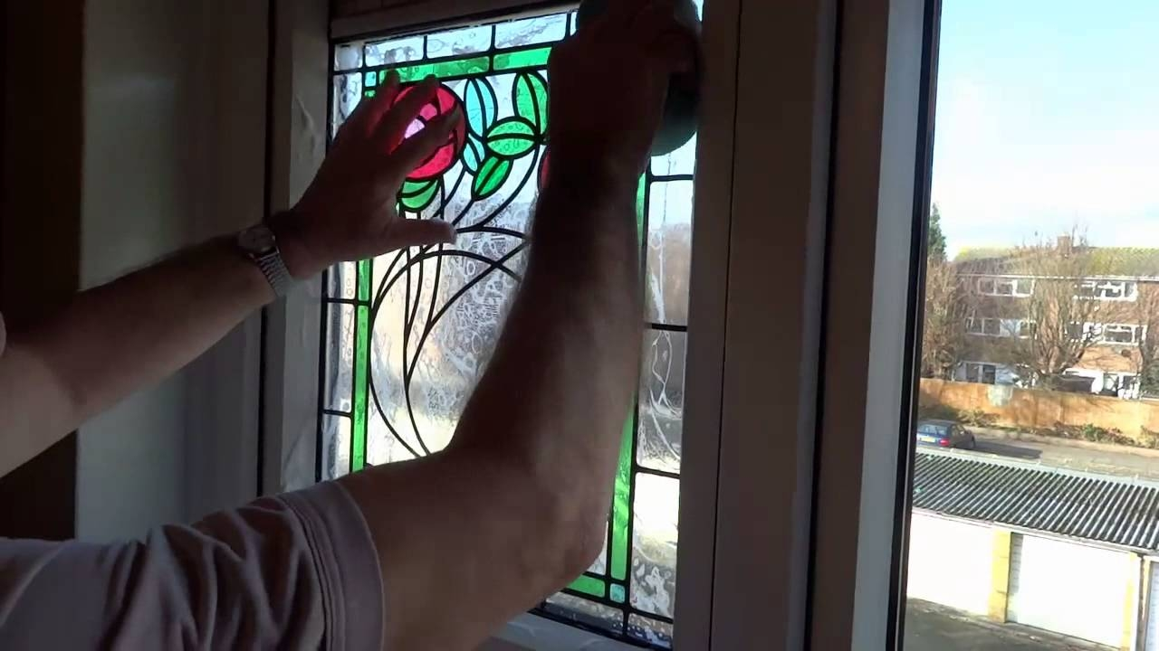 Stained Glass Window Film For Sliding Doors1280 X 720