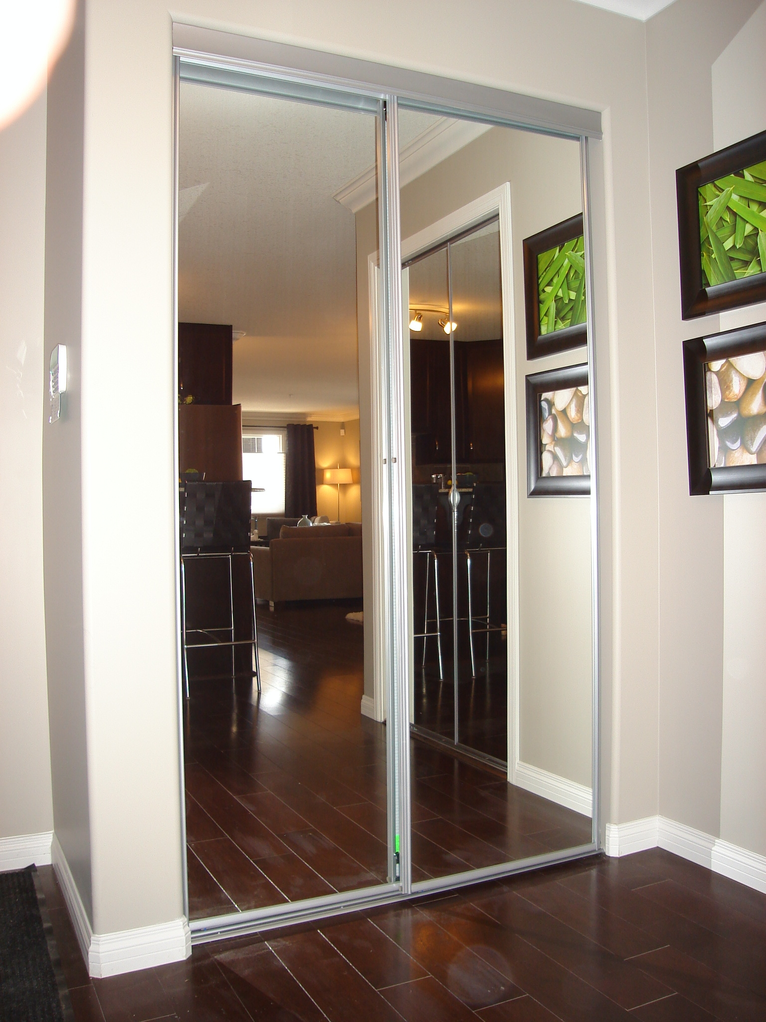 Stanley Mirrored Sliding Wardrobe Doors