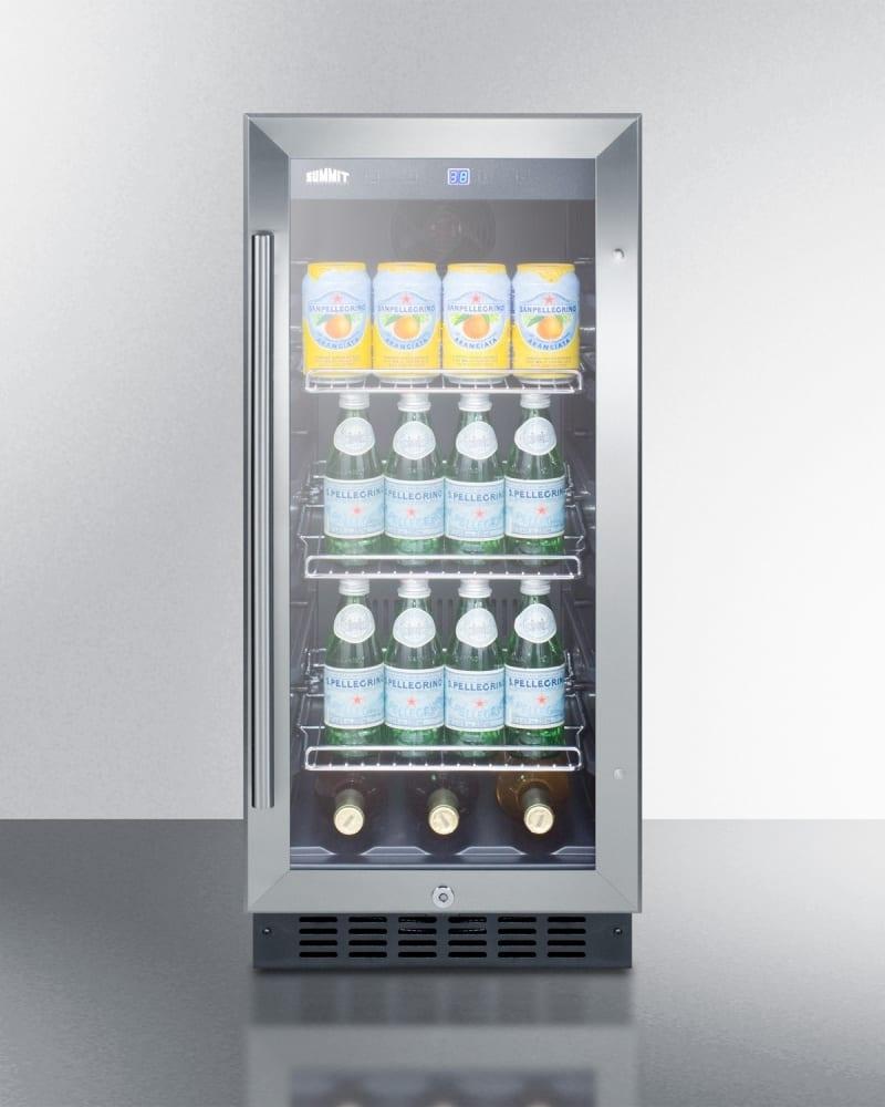 Summit 2 Sliding Door Beverage Cooler800 X 1000