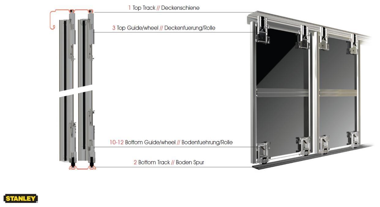 Track System For Sliding Wardrobe Doors1242 X 678