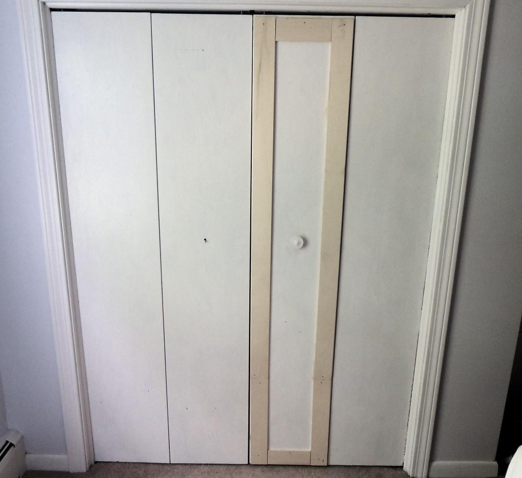 Tri Fold Sliding Doors Closetremodelaholic bi fold to paneled french door closet makeover