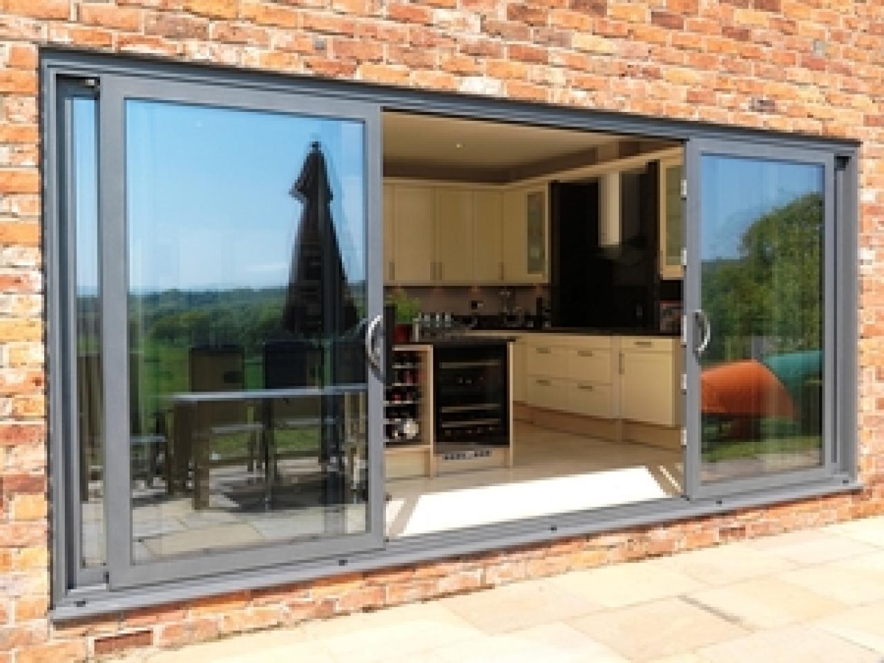 Triple Panel Sliding Glass Doors1280 X 960