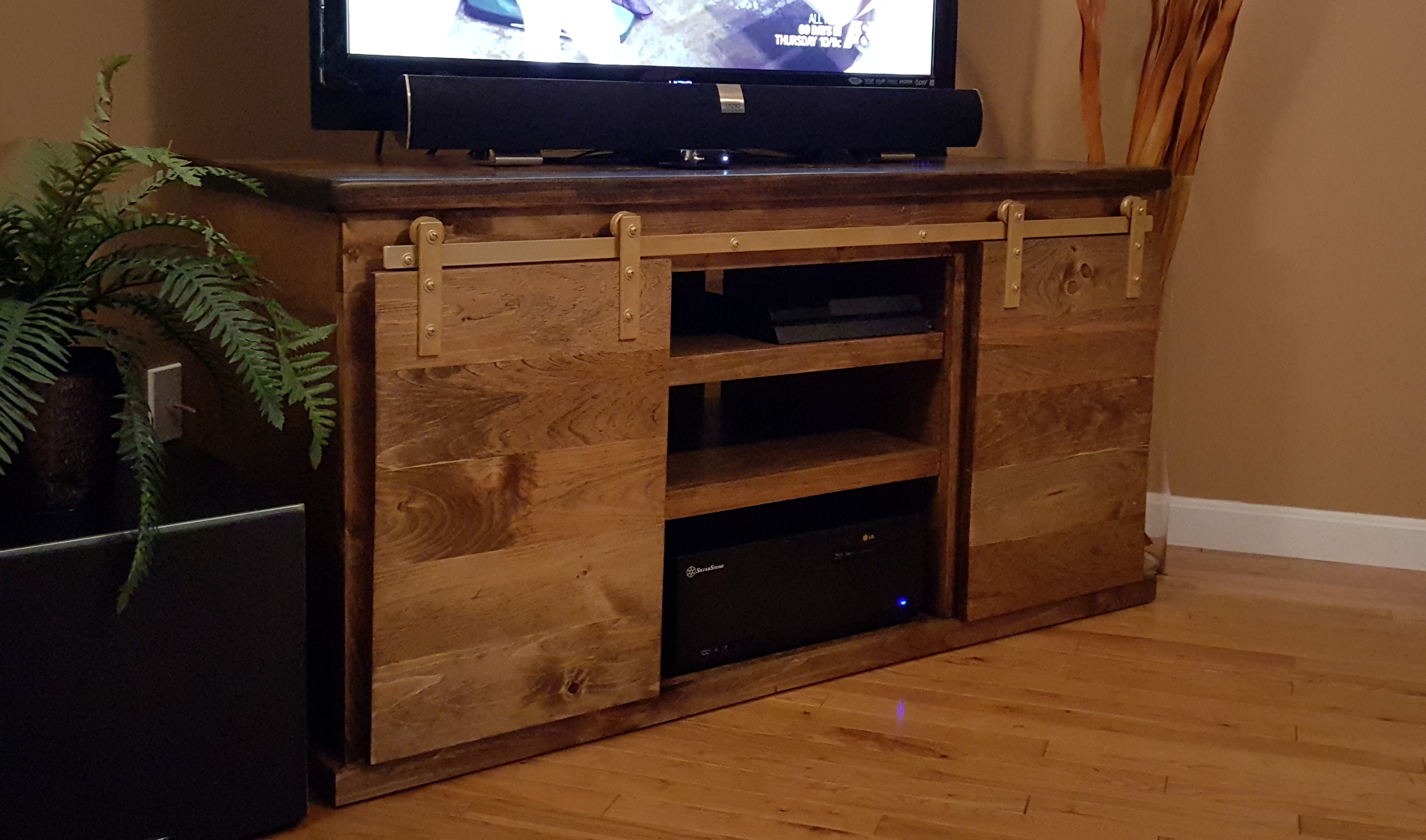 Tv Stands Sliding Doors