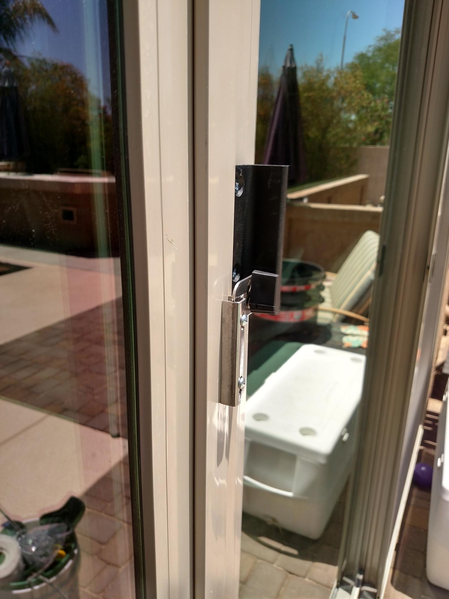 Ultra Glide Sliding Glass Door Closer And Safety Latch