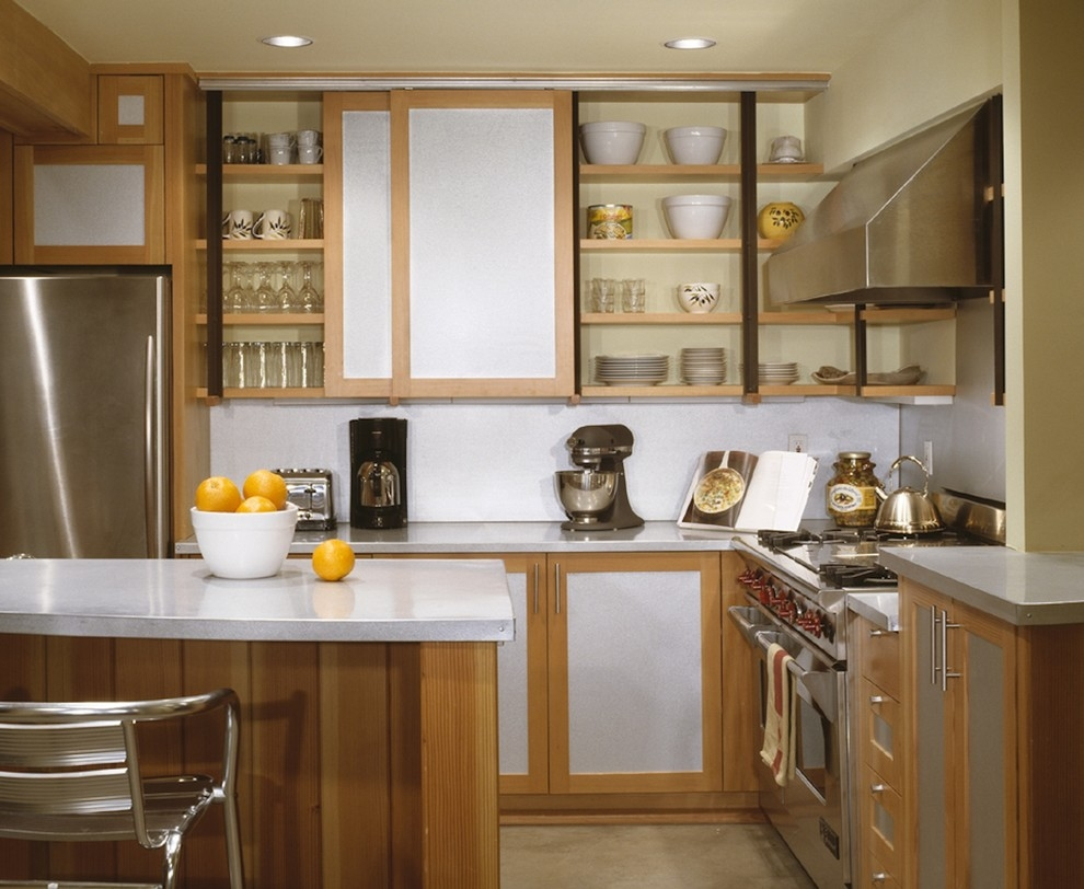 Upper Kitchen Cabinets With Sliding Doorsupper Doors