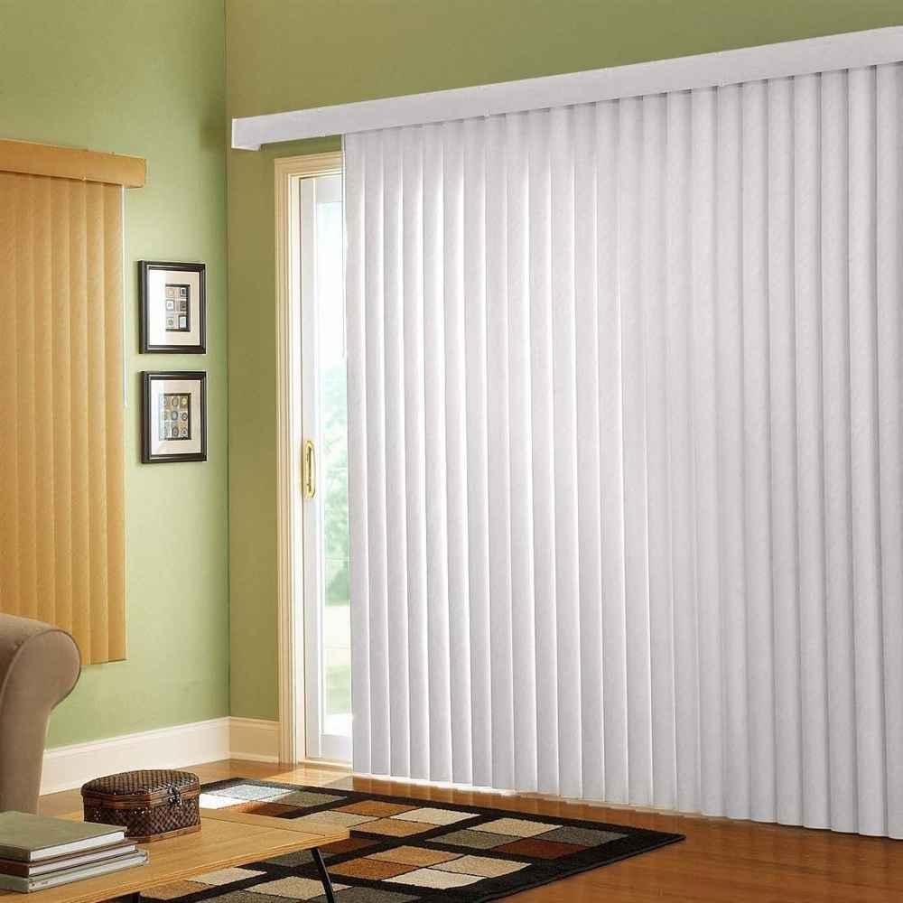 Vertical Blinds For A Sliding Glass Door
