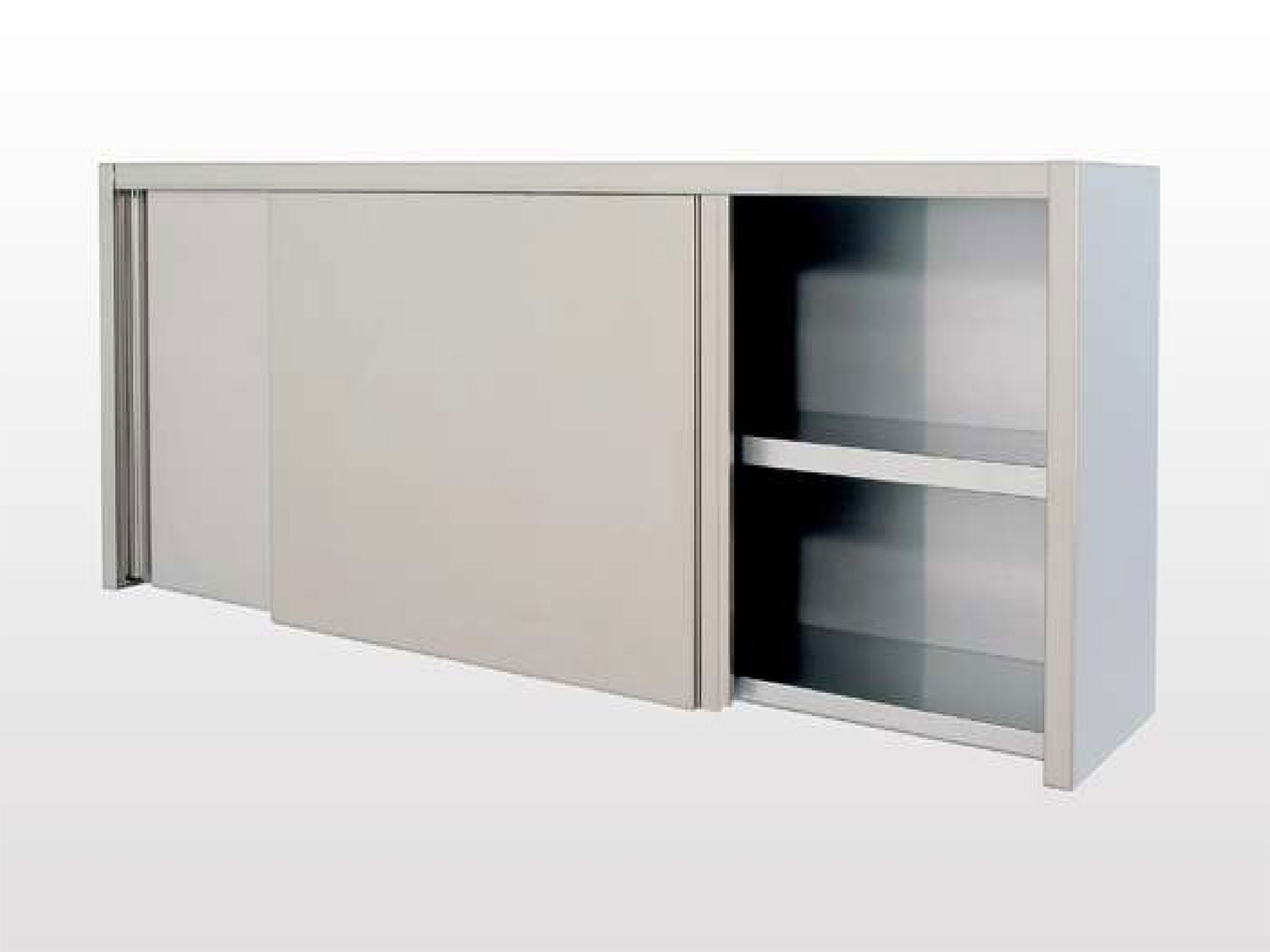 Wall Mounted Cupboard With Sliding Doors