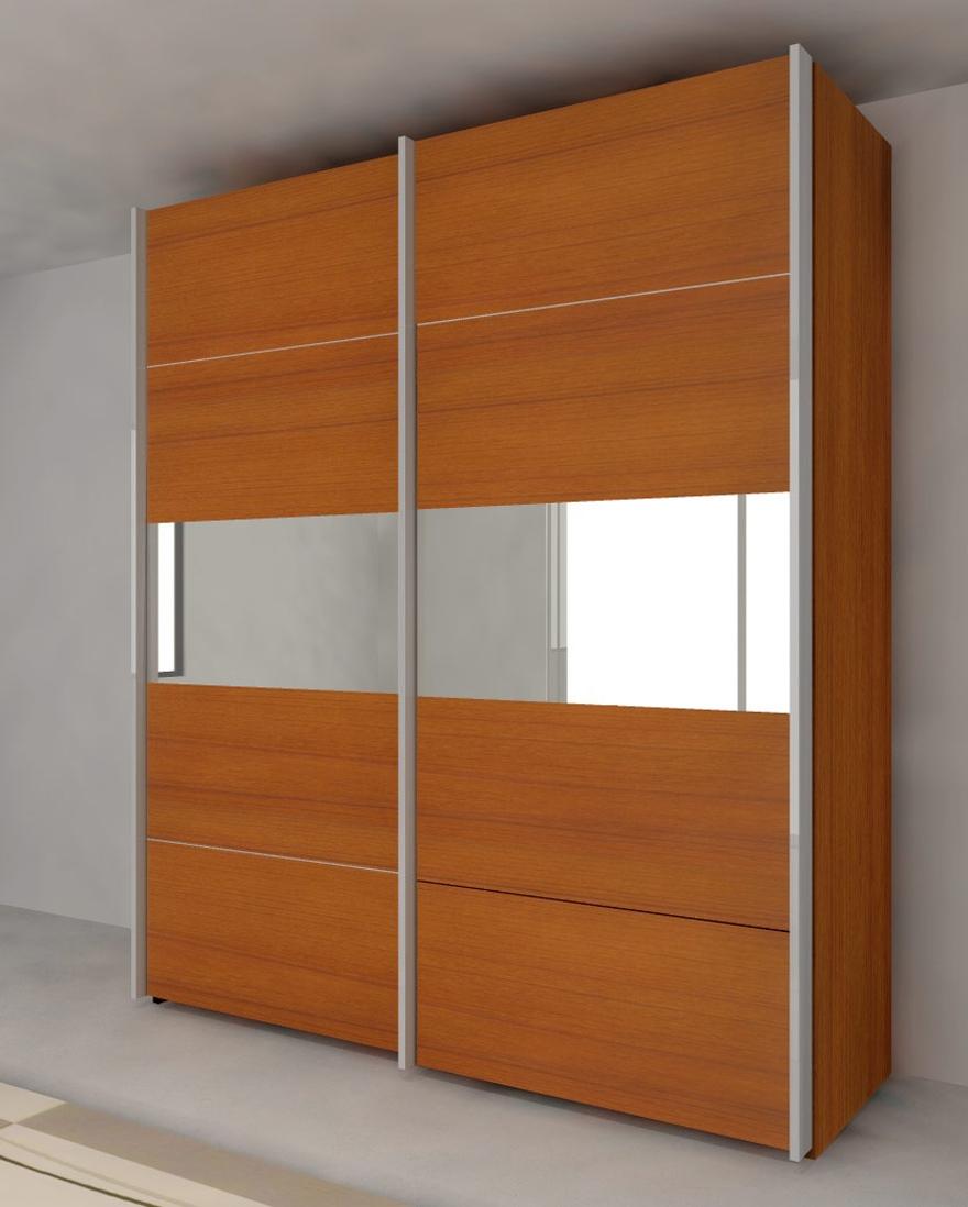 Wardrobe Armoire With Sliding Doors