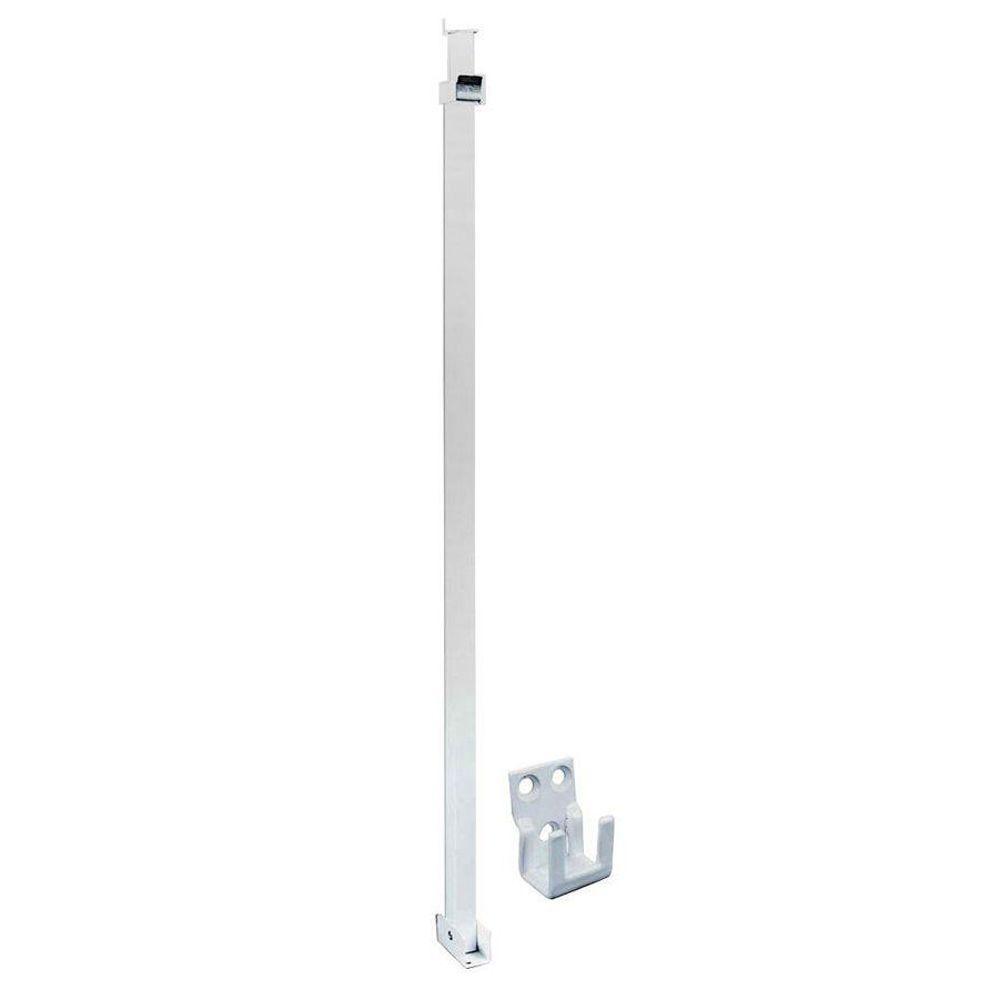 White Security Bar For Sliding Glass Doors1000 X 1000