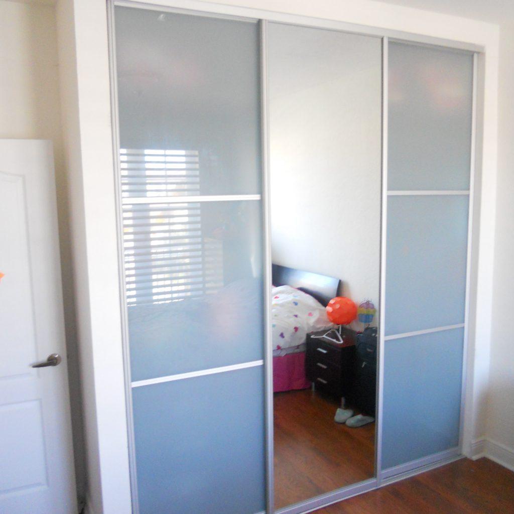 3 Panel Sliding Closet Doors