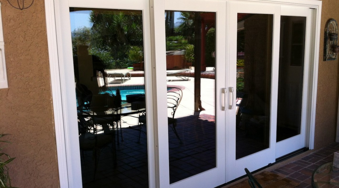 6 sliding glass door dualglide patio door dualglide for Six foot sliding glass door