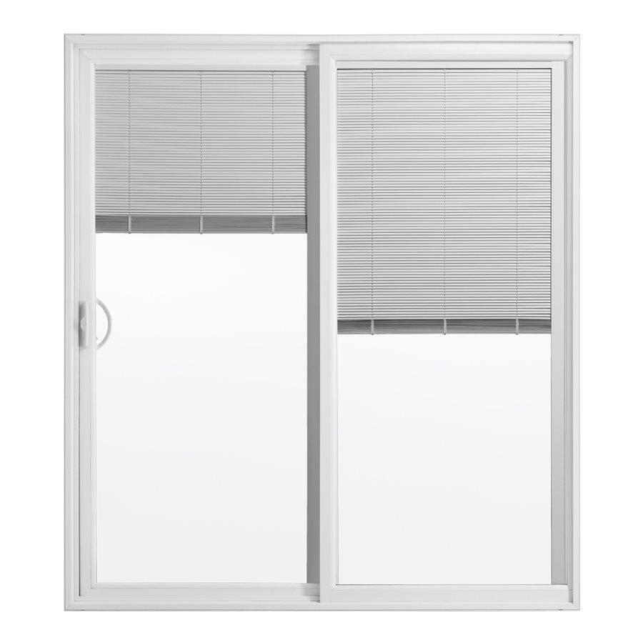 Blinds Between The Glass Vinyl Sliding Patio Door With Screen