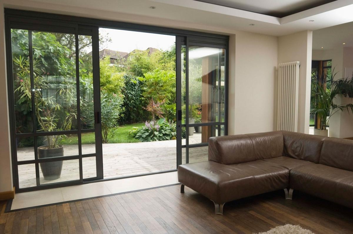 Brown Sliding Glass Doors1200 X 796