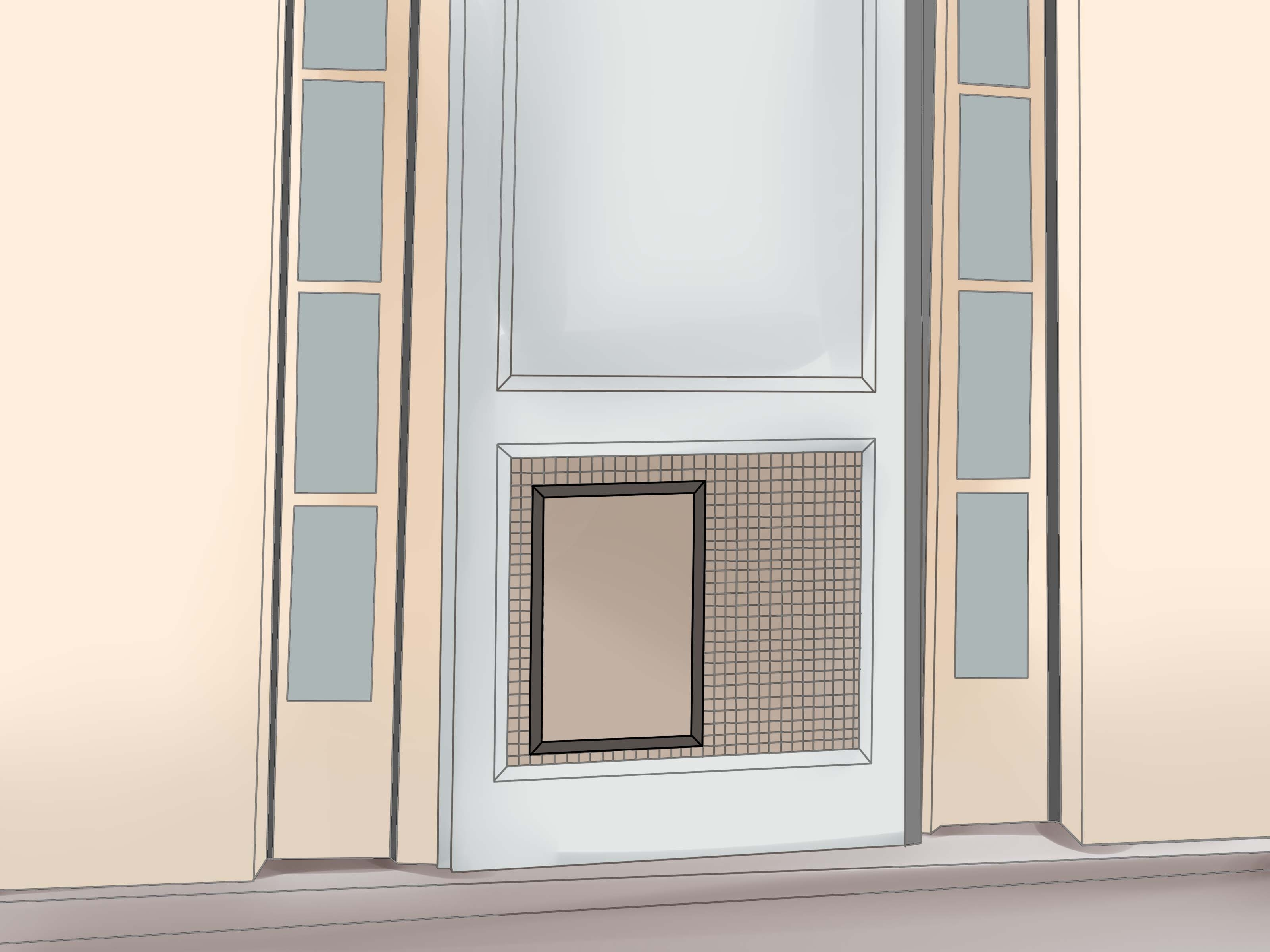 Cat Doors For Side Sliding Windowscat Door For Side Sliding Window  Saudireiki