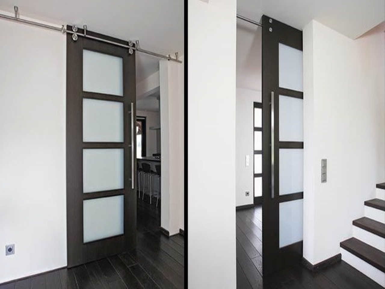 Ceiling Mounted Interior Sliding Doors1280 X 960
