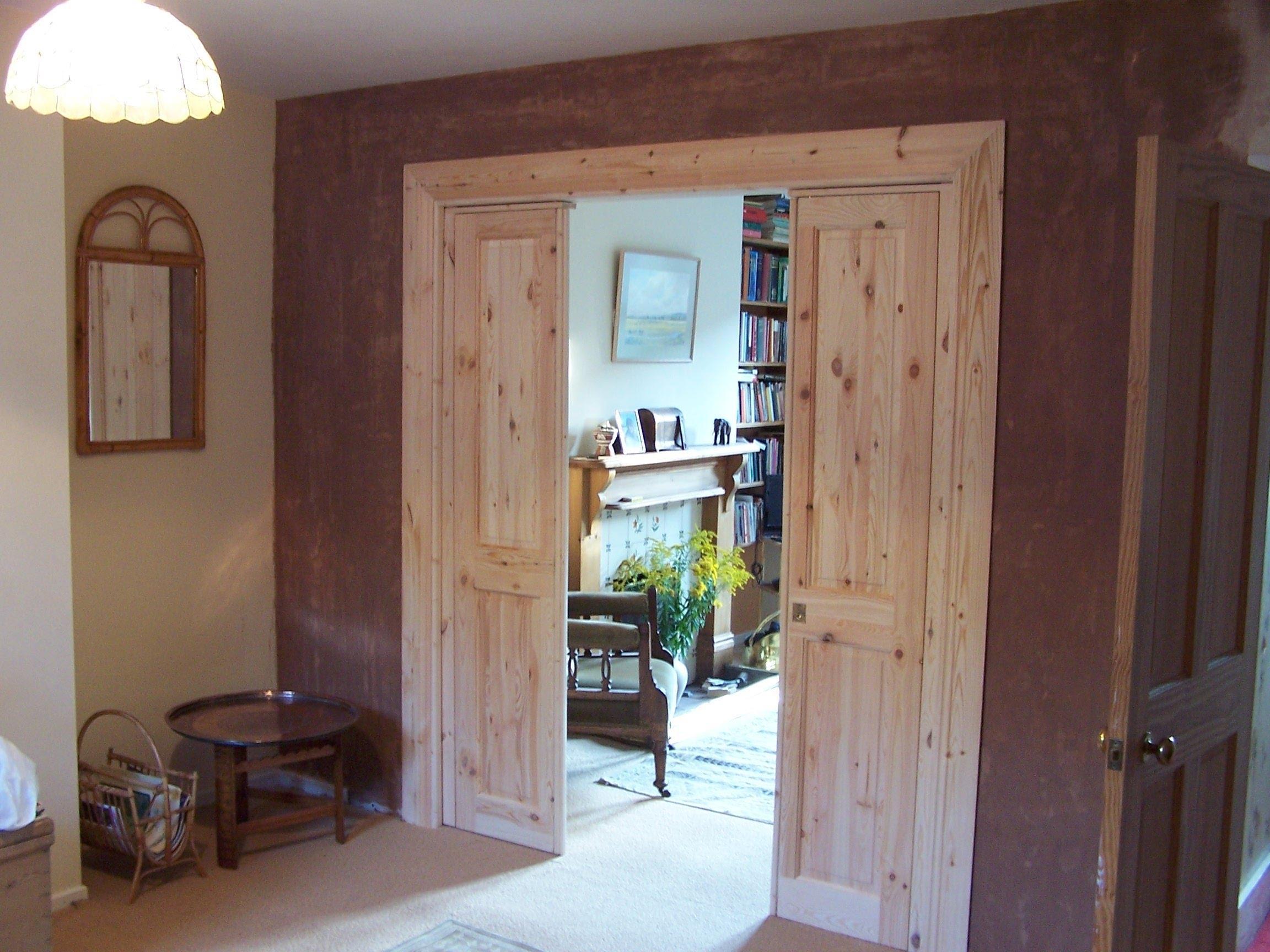 Closet Door That Slides Into Wall