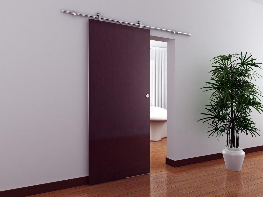 Contemporary Sliding Barn Door Track Hardwareinterior sliding door hardware track set saudireiki
