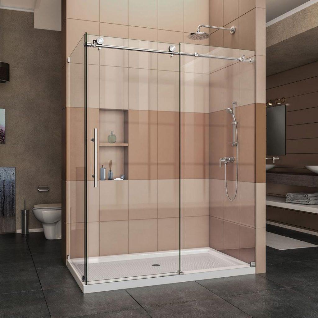 Corner Showers With Sliding Doors1000 X 1000