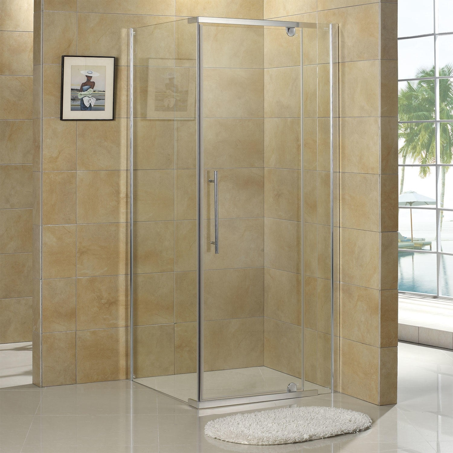 Custom Size Sliding Glass Shower Doors