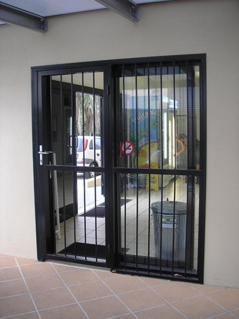 Decorative Sliding Glass Door Security Bar
