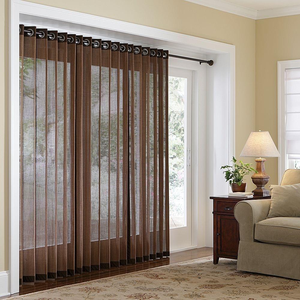Drapes For Sliding Glass Doors Blindswindow treatments for sliding glass doors blind john robinson