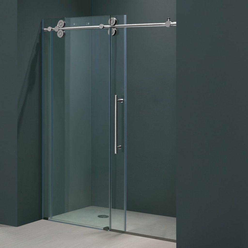 Frameless Sliding Glass Shower Door Hardware