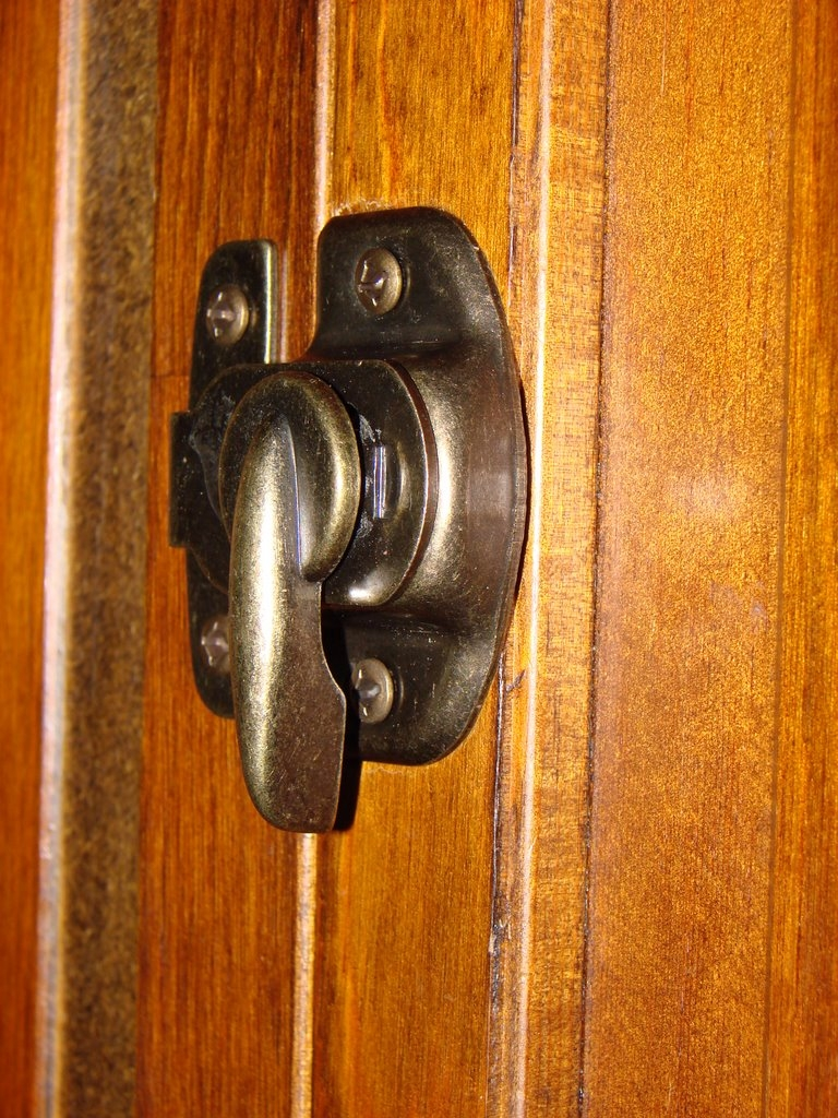 Hook Latch For Sliding Doors