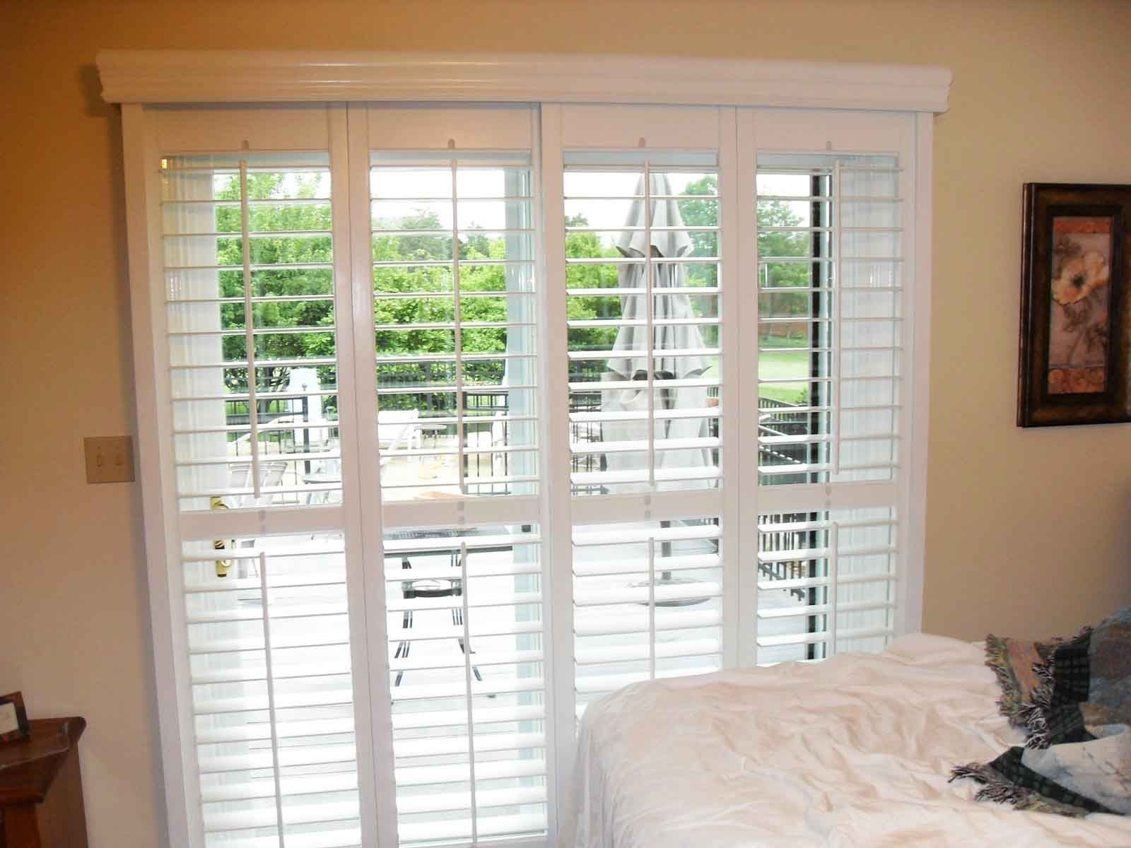 Horizontal Wood Blinds For Sliding Glass Doors Sliding Doors