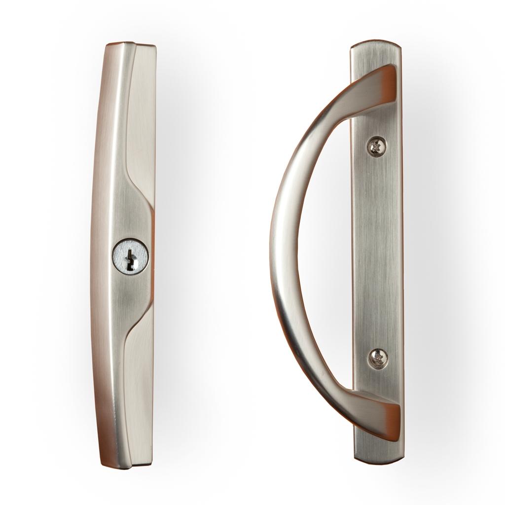 Keyed Sliding Glass Door Lock Set