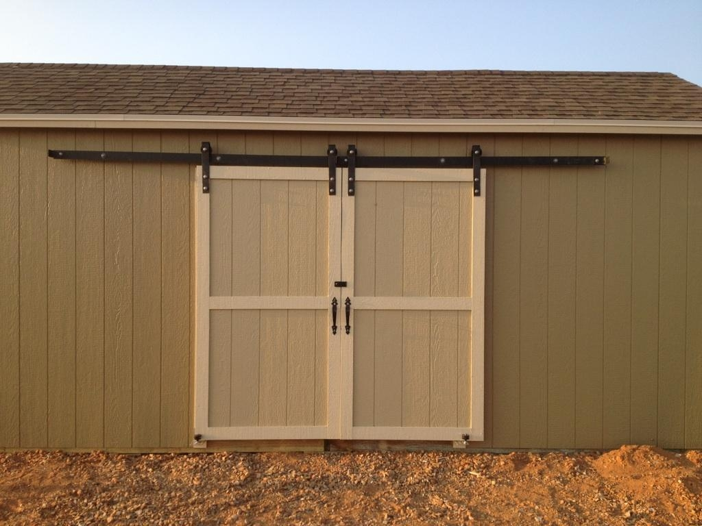 Lock Sliding Barn Door Outsideexterior sliding barn door office and bedroom