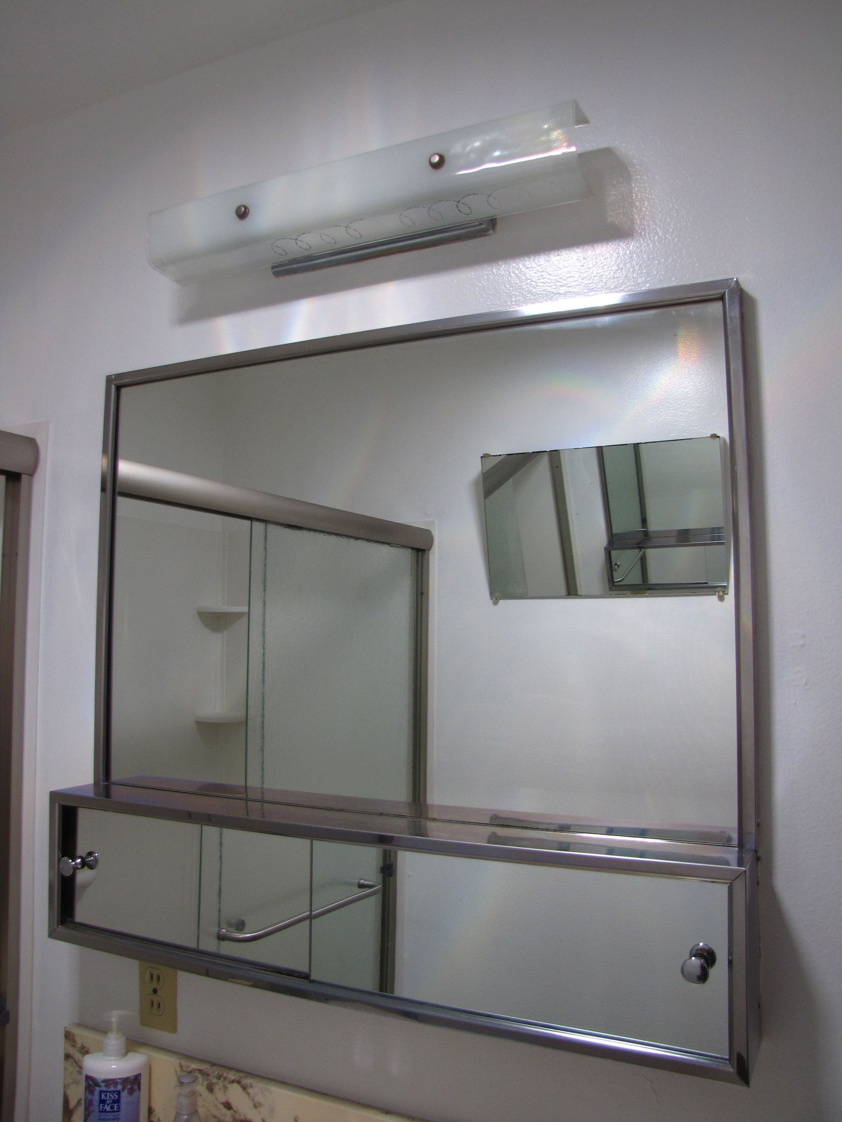 Medicine Cabinet Sliding Door Track