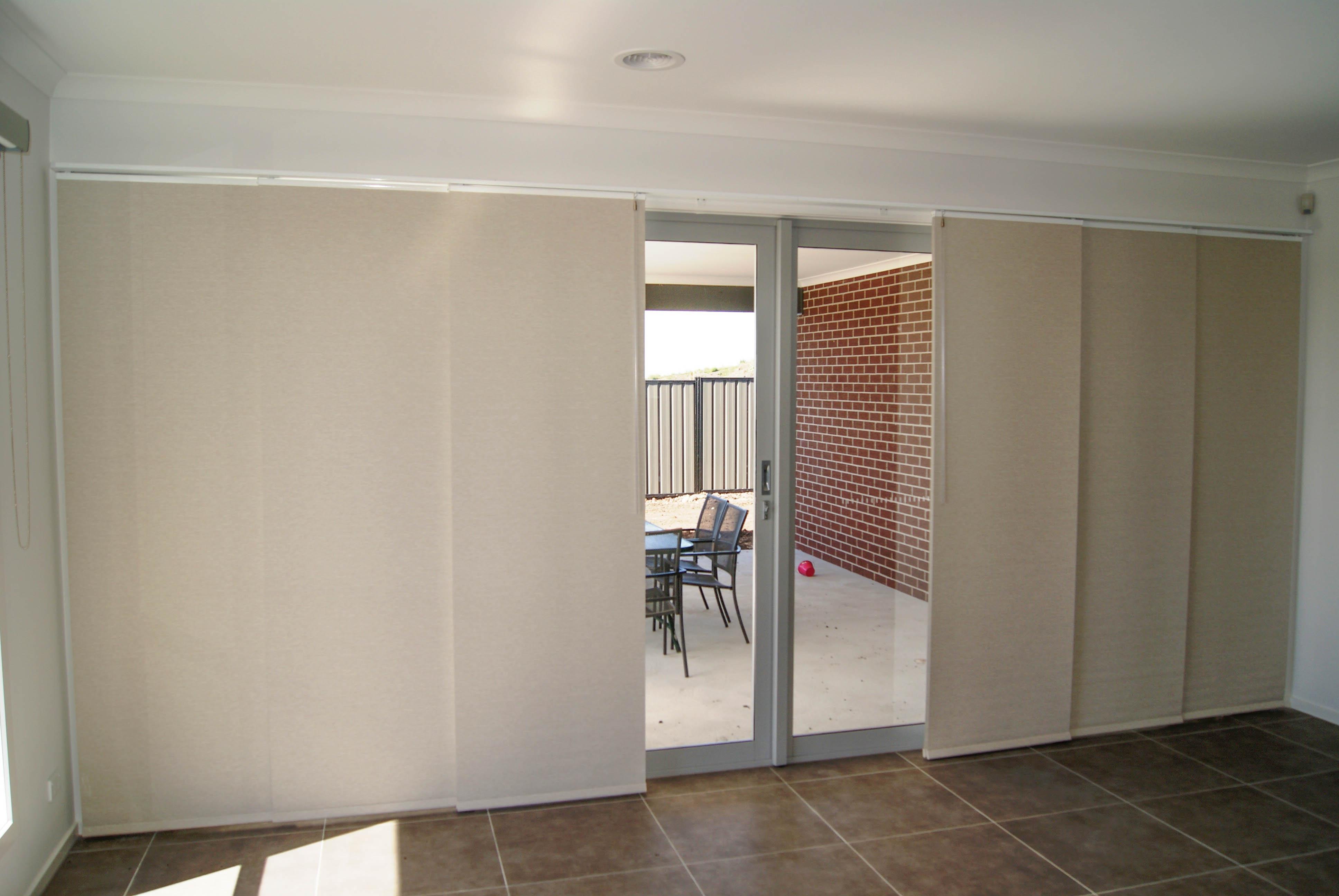 Panel Glide Blinds For Sliding Doors