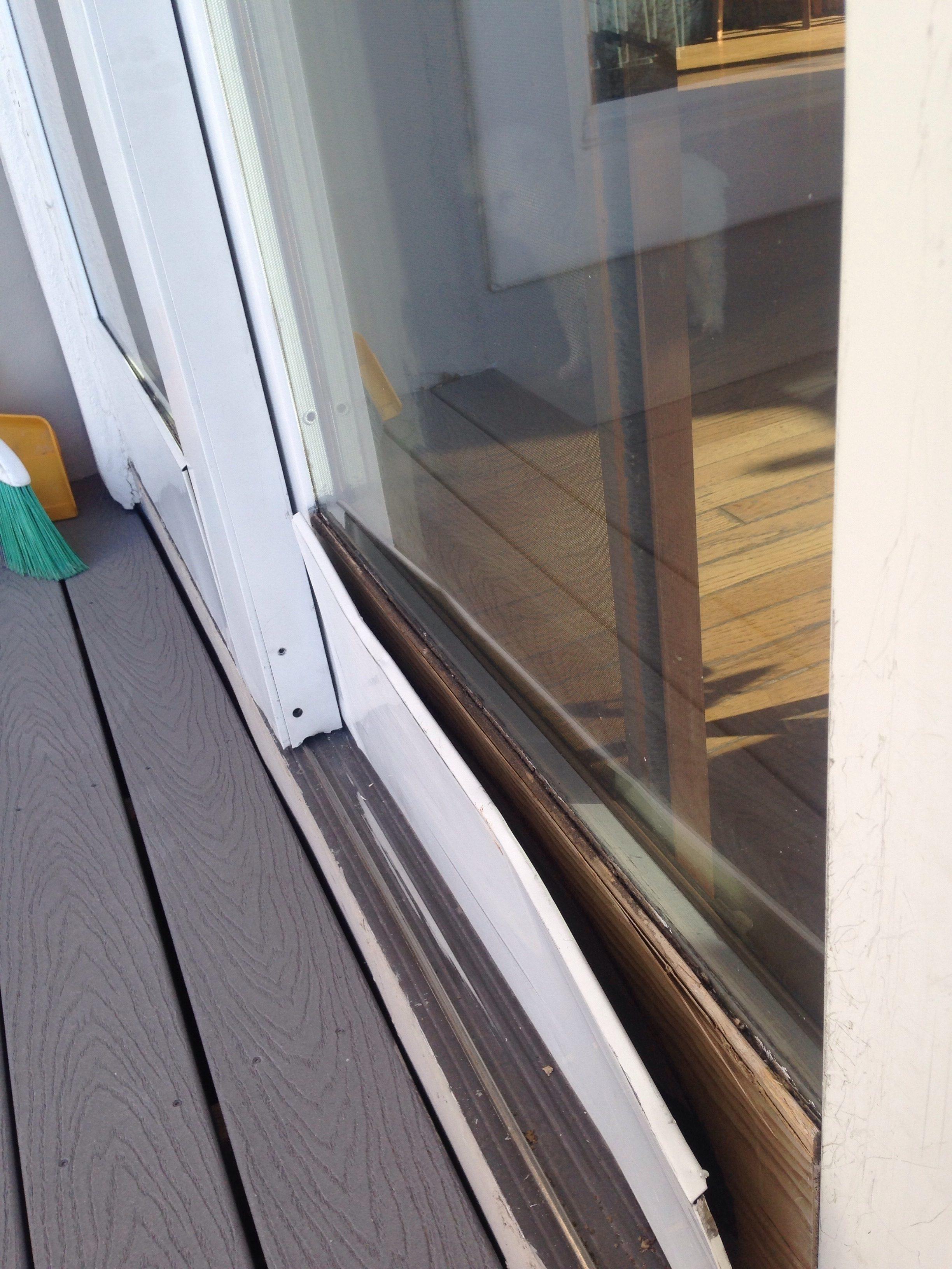 Pella Sliding Door Foot Lock