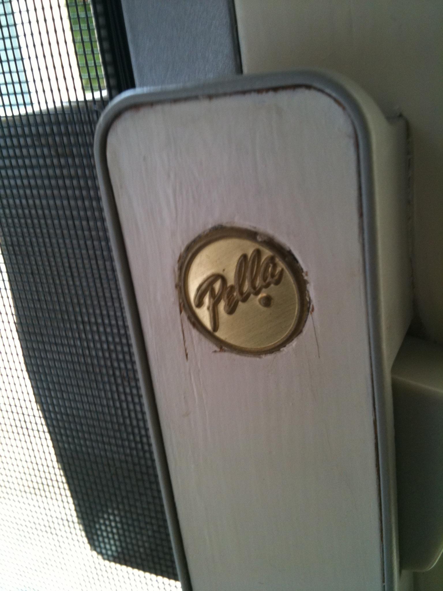 Pella Sliding Screen Door Handlerescreening a pella screen door screen door and window screen