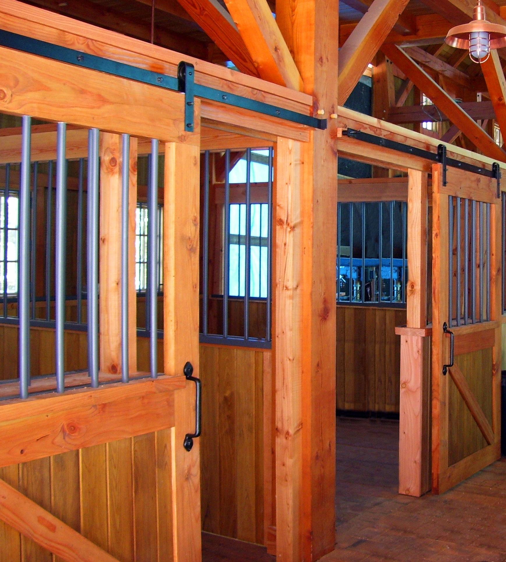 Pole Barn Sliding Door Track Cover