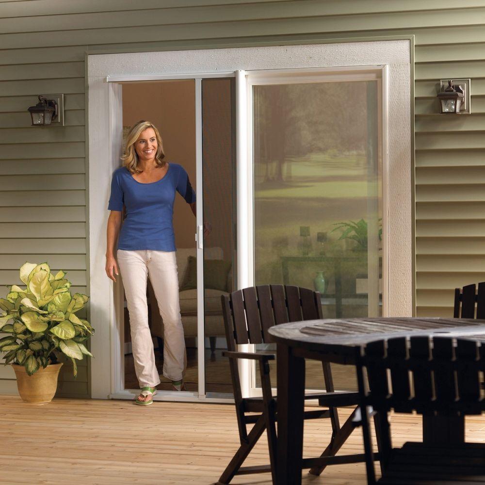 Retractable Sliding Glass Door Screendecorating cozy sliding screen door with retractable screen doors