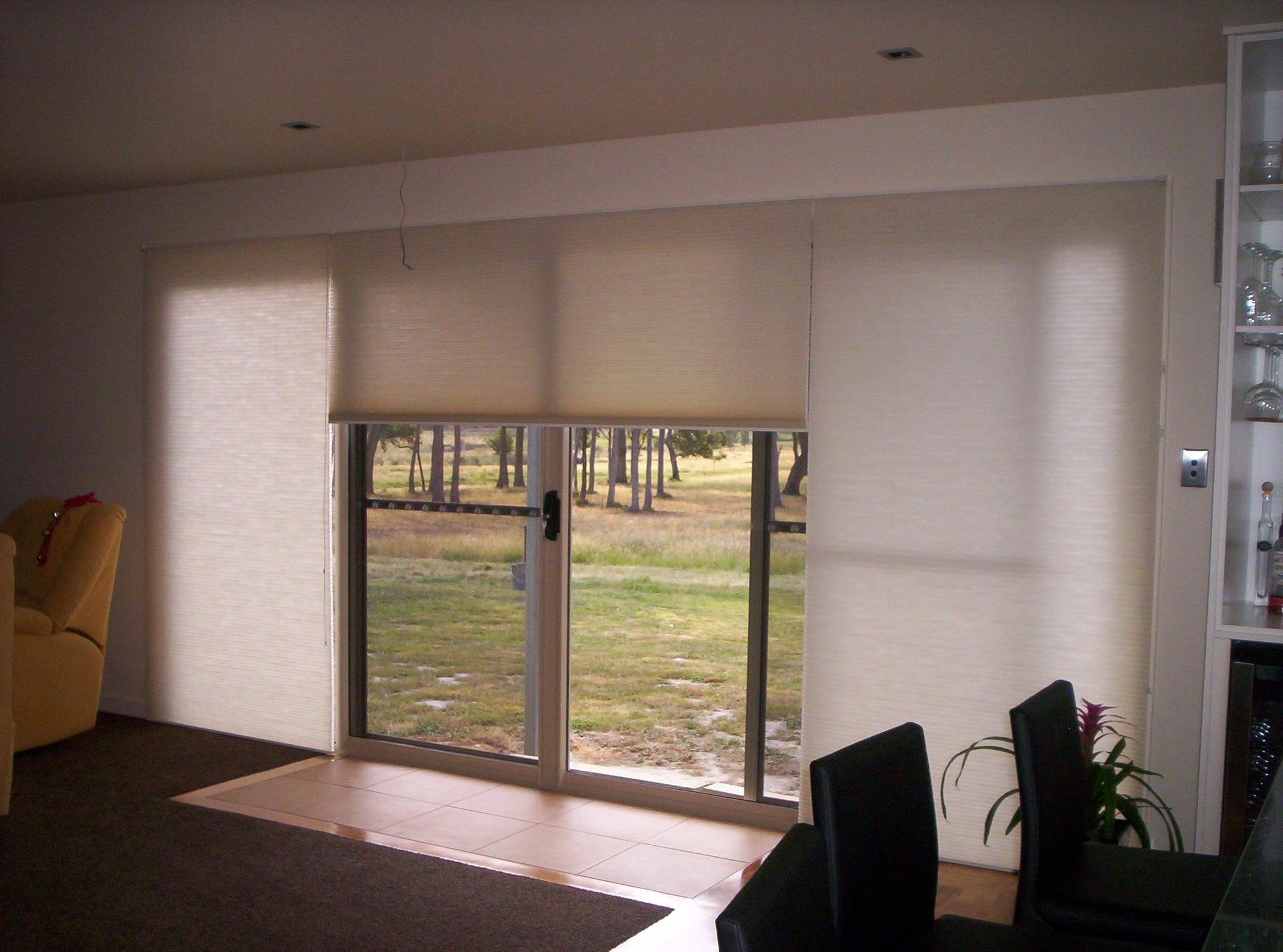 Roller Blinds Over Sliding Doors Sliding Doors
