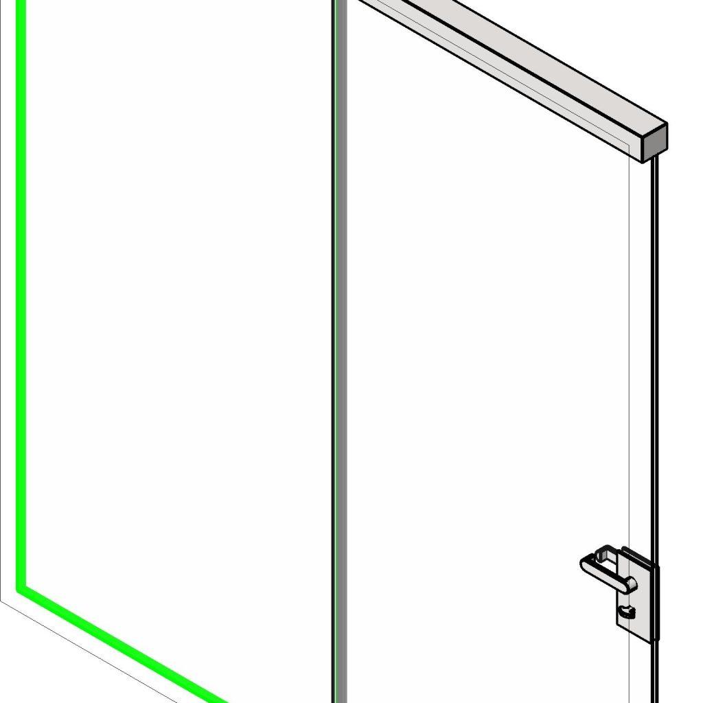 Single Panel Sliding Door Revit