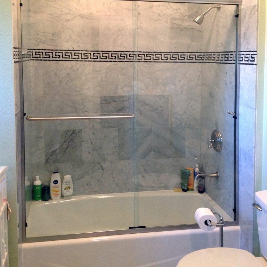 Single Panel Sliding Tub Door1000 X 1339