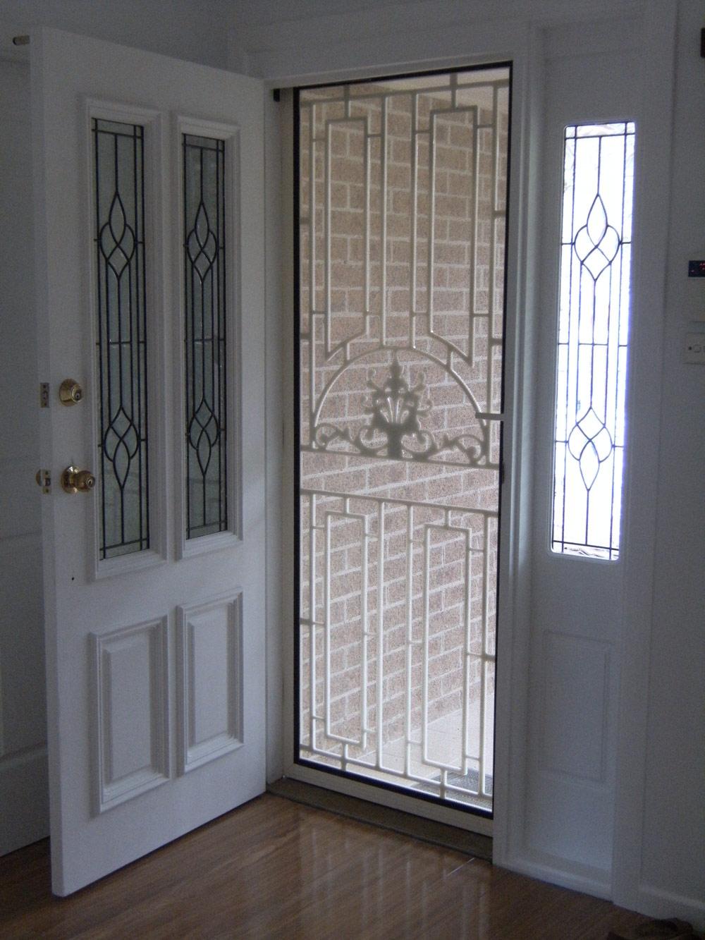 Slide Out Screen Doorsscreens screen doors prestige home solutions